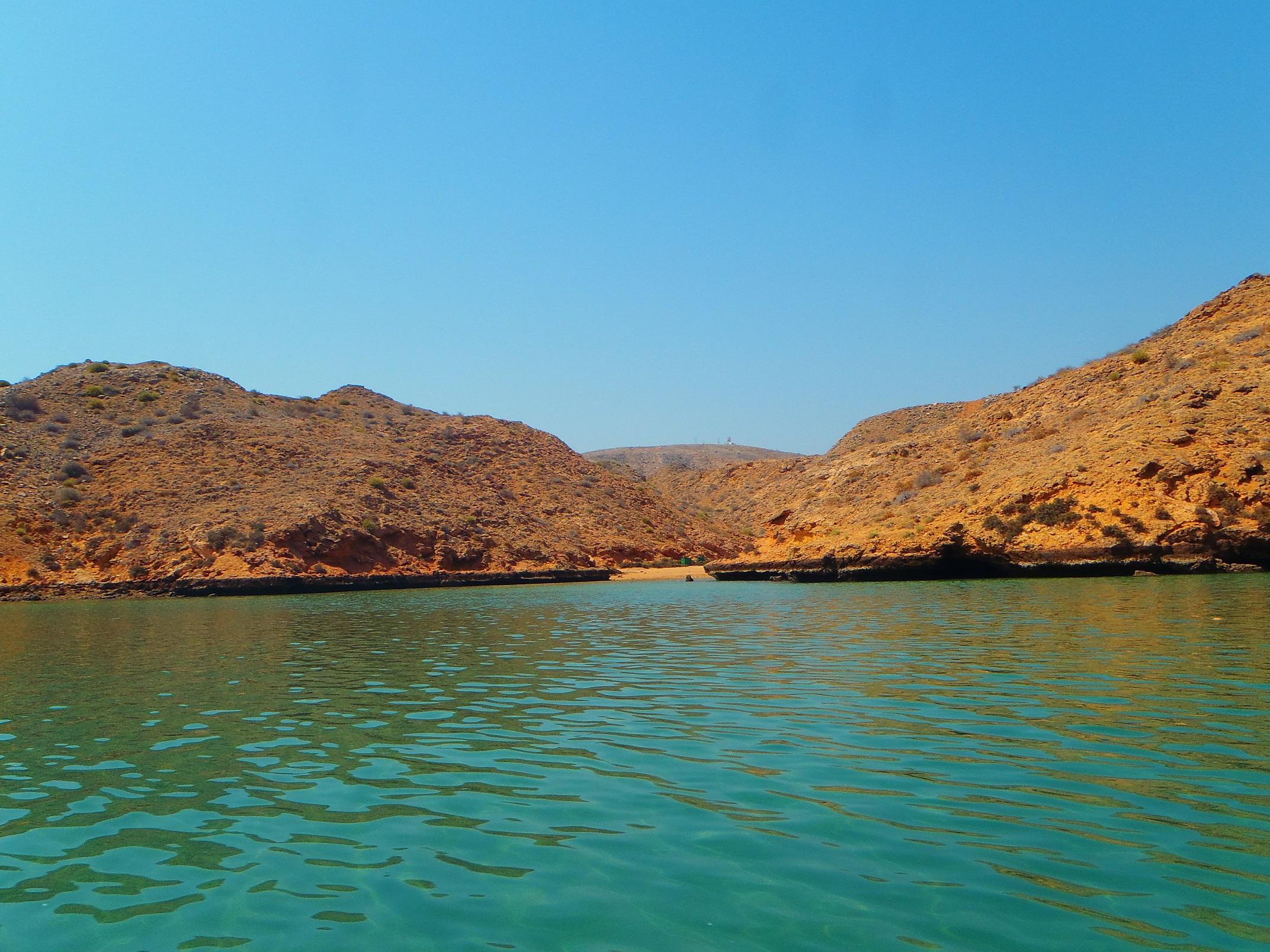 sampling site in Oman